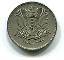 1979 Syria 50 Piastres Coin - Syrien