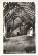 STOKESAY CASTLE - The Banqueting Hall - Shropshire