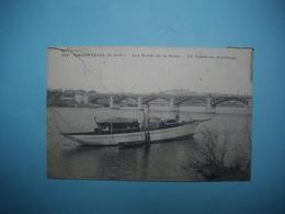 ARGENTEUIL  -  95  -  Les Bords De La Seine  -  Un Yacht Au Mouillage    -  Val D'Oise - Argenteuil