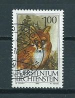 1993 Liechtenstein Vos,fuchs,fox Used/gebruikt/oblitere - Liechtenstein