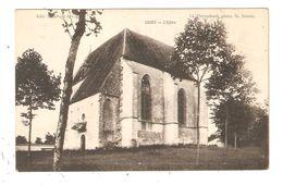 CPA 58 COURS ( Environs COSNE ) L'Eglise Vue Peu Commune - Cosne Cours Sur Loire