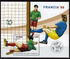 CUBA   BF 150   * *    Cup 1998   Football    Soccer  Fussball - Coupe Du Monde