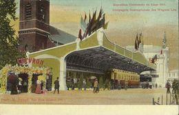 Exposition Universelle De Liége 1905. -- Compagnie Internationale Des Wagons - Lits.  (2 Scans) - Liege