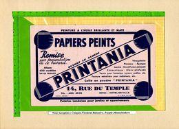 BUVARD & Blotting Paper : Papiers Peints PRINTANIA  Peinture A L'huile , Vernis - Paints
