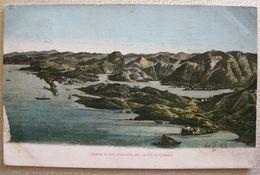 MONTENEGRO - CATTARO, TENGERI POSTA, SHIPS MAIL  1914 UNGARO-CROATA - Montenegro