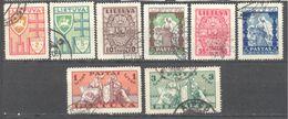Lituanie: 8 Valeurs De La Serie Yvert N° 343/350° - Lithuania