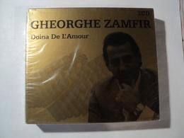DOUBLE CD 20 TITRES GHEORGHE ZAMFIR. 2004. NEUF SOUS CELLO DOINA CA LA VISINA... - Musiques Du Monde