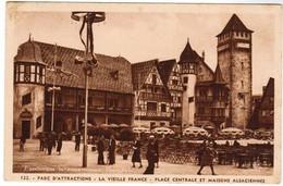 CPA Exposition Internationale Paris 1937, Parc D'attractions, La Vieille France (pk41698) - Exposiciones