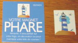 Pub Magnet Phare Françoise Saget Sous Blister - Magnets