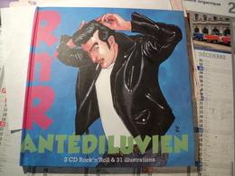 R N R ANTIDELUVIEN. 2011. 2 CD ET 31 ILLUSTRATIONS TED BENOIT / CHARLES BERBERIAN... - Music & Instruments