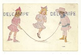 Trois Petites Filles Qui Sautent à La Corde 118B. 1916 - Cartes Postales