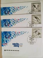 Russia 2011. Winter Olympic Sports. FDC Set. Moscow Postmark - 1992-.... Federazione
