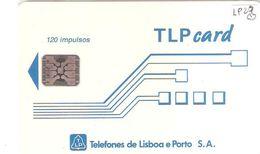 Portugal - Phonecard/ Telécarte Telecom Card / BRANCO TLP ,  Nuevo/UNC - Portugal