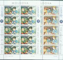 MD 2007-582-3 EUROPA CEPT, MOLDAVIA, 2MS, MNH - 2007