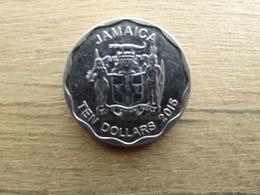 Jamaique  10  Dollars  2015  Km !!! - Jamaica