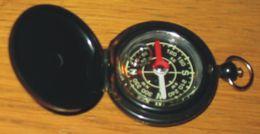Boussole étui Plastique Noir 5.5 X 4.5 X 1.2 Cm - Sciences & Technique