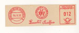 Neheim Hüsten Stolz Des Sauerlandes Kaffee 9.9.1952 - BRD
