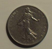 1965 - France - 1 FRANC, Semeuse, Grosse Chouette, KM 925.1, Gad 774 - H. 1 Franc