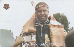 Lesotho - King Letsie III - Lesotho