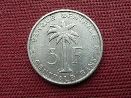 CONGO BELGE Monnaie De 5 Frs 1958 - Belgique