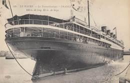 """LE HAVRE: Le Transatlantique """"FRANCE"""" - Piroscafi"""
