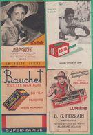 4 Pochettes Photos Vides - Kodak  Nain Bleu à Nice - Rolla, Studio Gisèle à Maison Carrée - Bauchet - Ferrari à Masssiac - Autres