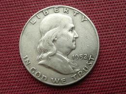 ETATS UNIS Monnaie De Half Dollard 1952 D - Bondsuitgaven