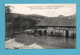 76 Seine Maritime Saint Martin De Boscherville Quartier De La Carriere Maison Inondee Orage 17 Juillet 1910 - Saint-Martin-de-Boscherville