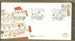 2002 - Netherlands FDC E475 Blanco - Christmas Stamps [R00983] - FDC