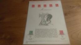 145/ DOCUMENT PHILATELIQUE OFFICIEL PREMIER JOUR MARIANNE  1976 - Documents De La Poste