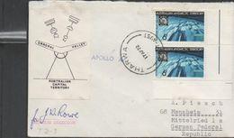 3239   Carta THARWA (Australian Antartic Territory) 1972. Signe Station Director, Apollo 16 - Territorio Antártico Australiano (AAT)