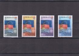 Kiribati Nº 595 Al 598 - Kiribati (1979-...)
