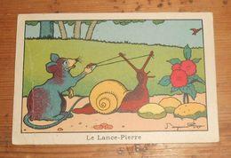 Image. Le Lance Pierre. Dessin De Benjamin Rabier. - Autres