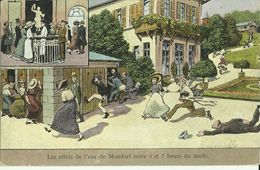 Les Effets De L'eau De Mondorf  Entre 6 Et 7 Heures Du Matin.   (2 Scans) - Mondorf-les-Bains