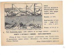 PA346 SICILIA PALERMO Pubblicitaria AJELLO  Spugne Marine Pelli 1950 Viaggiata - Palermo