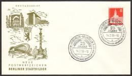 BER SC #9N125 1959 City Hall, Neukolln FDC 02-14-1959 - FDC: Covers