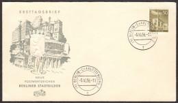 BER SC #9N132 1956 Reuter Power Plant FDC 10-05-1956 - [5] Berlin