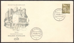 BER SC #9N132 1956 Reuter Power Plant FDC 10-05-1956 - FDC: Covers