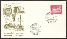 BER SC #9N136 1958 Congress Hall FDC 04-25-1958 - FDC: Covers