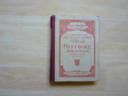 Histoire Cours Supérieur 1ère Année Par Aimond 1927  (G') - 6-12 Ans