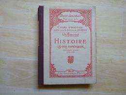 Histoire Cours Supérieur 2ème Année Par Aimond 1928  (G') - 6-12 Ans