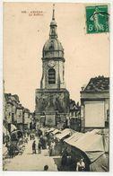 AMIENS SOMME  : Le Beffroi - Ed Caron N°150 - Marché Vendeurs Ambulants - Voyagé LONDON - Amiens