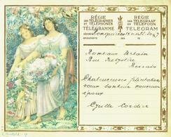 Télégramme En Couleur De 1933 De La Régie Des Télégraphes  & Téléphones De Belgique - Félicitation Pour Un Mariage (T11) - Mariage