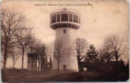 36 - ECUEILLE -- Château D'eau - Place Du Champ De Foire - Autres Communes