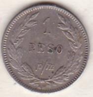 Colombia. 1 Peso 1907 AM. Copper-nickel. KM# A279 - Colombia