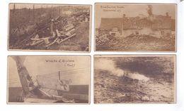 GUERRE 14   Mini Cartes Photo 4 Cm 7cm  ARGONNE Tranchees Avion Abattu Toul Canon  St Mihiel Bataille Tranchee Granpre - Weltkrieg 1914-18
