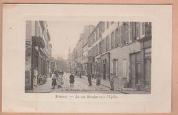 Sceaux - La Rue Houdan Vers L'Eglise - Sceaux