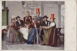 Badische Volkstrachten Renchthaeler Aus Oedsbach Oberkirch - 1900 - Europe