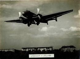 Junkers Ju 86 Photo Originale 16,5cmx12cm Stocker Deutsche Lufthansa - Aviation
