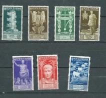 Italie - Yvert N° 396 , 397,399,400,401,402, 403 , 7 Valeurs **   - Ad362 - Mint/hinged